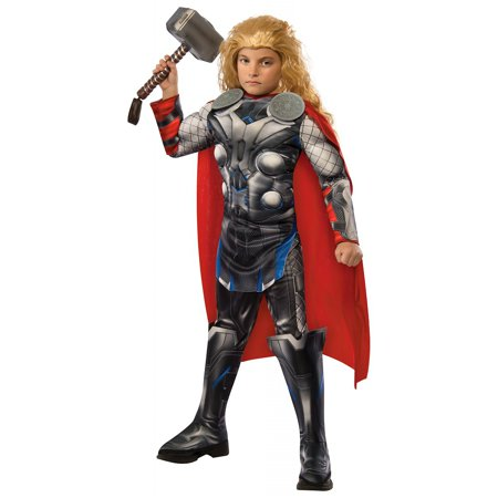 Deluxe Thor Child Costume - Large](Thor Deluxe Costume)