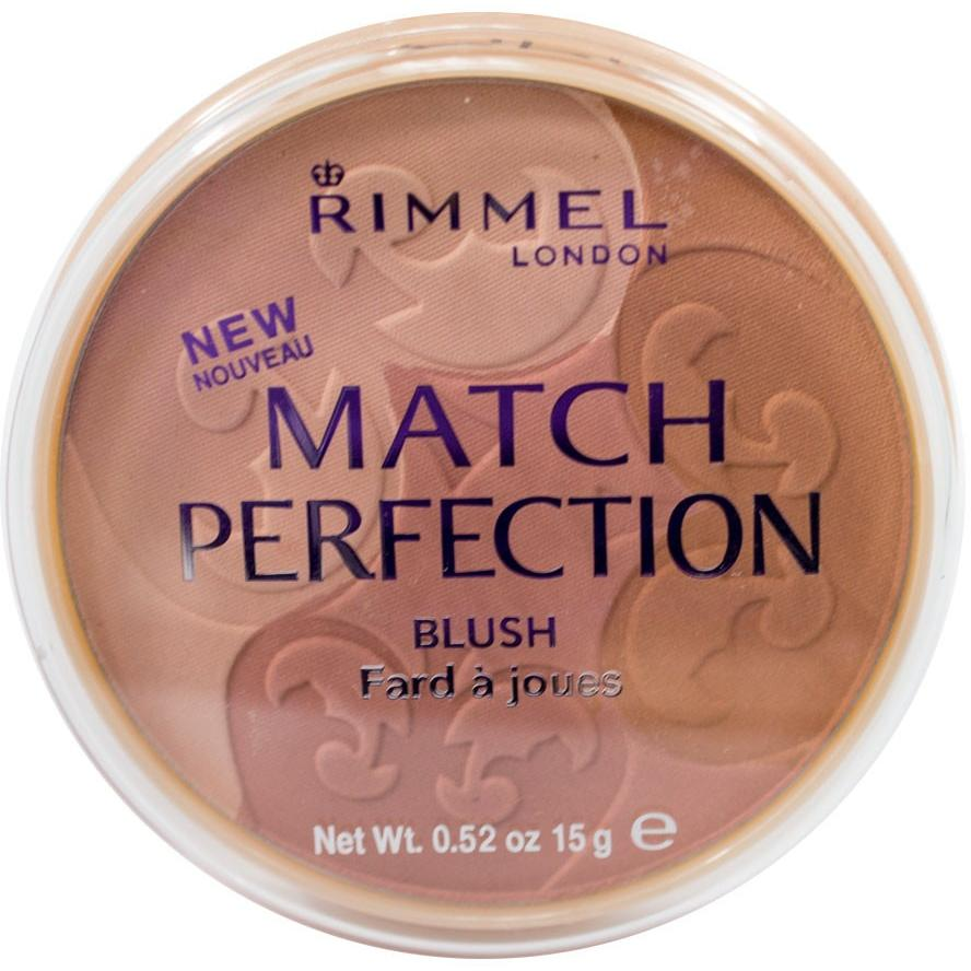Rimmel Match Perfection Blush, Light/Medium, 0.52 oz