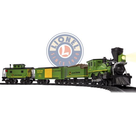 208afd058e0 Lionel John Deere Battery-powered Model Train Set Ready to Play with Remote