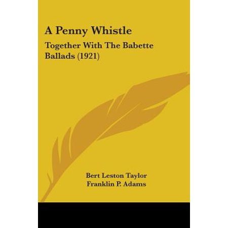 A Penny Whistle: Together with the Babette Ballads - Sports Pennies