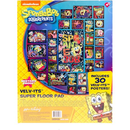 spongebob squarepants velv its coloring posters by horizon group usa