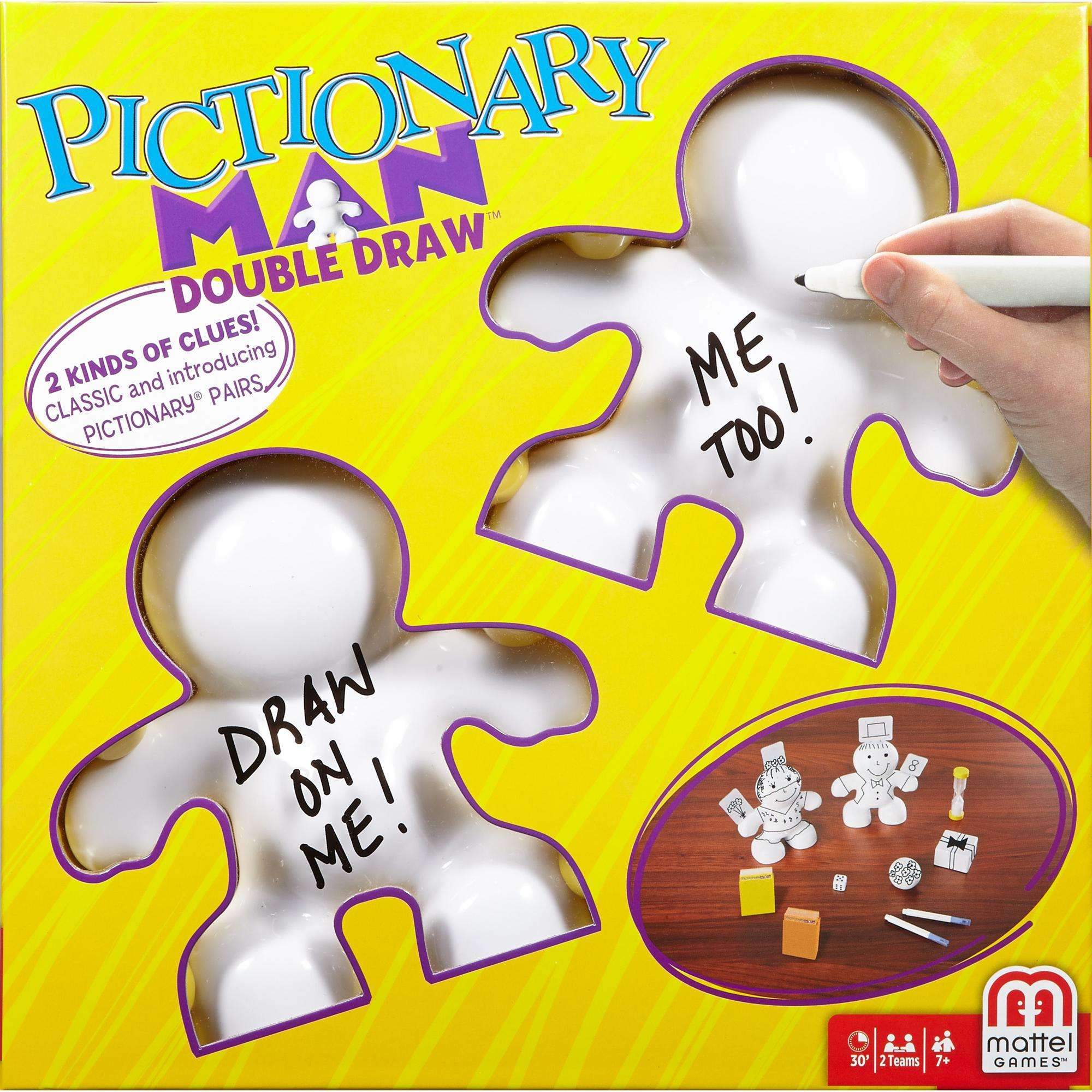 Pictionary Man Double Draw Game
