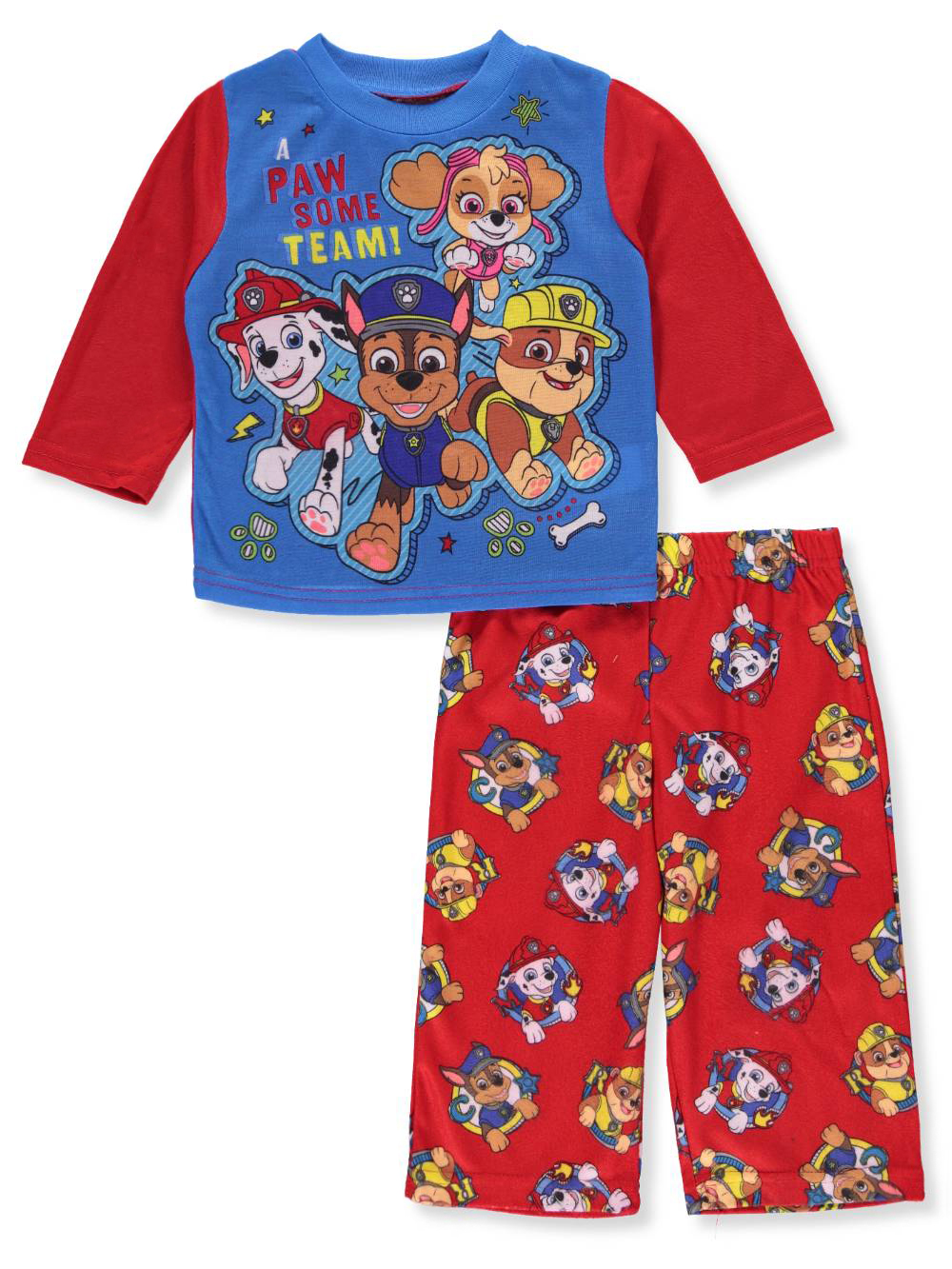 Paw Patrol Boys' 2-Piece Pajamas