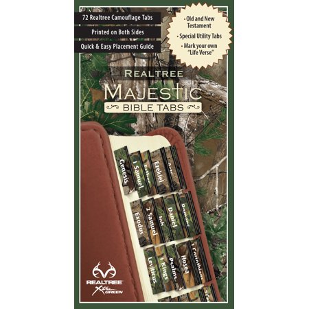 REALTREE Majestic Bible Tabs - Camo