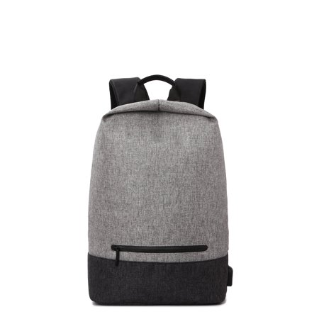 High School College Backpack W  External Usb Charging Port Large 17   Roomy Space For Textbook Laptop