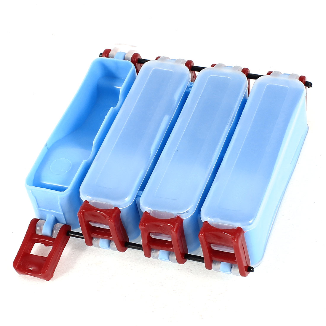 Unique Bargains Fishing Tackle Box Hook Lure Case Double Sides 8 Compartments by Unique-Bargains