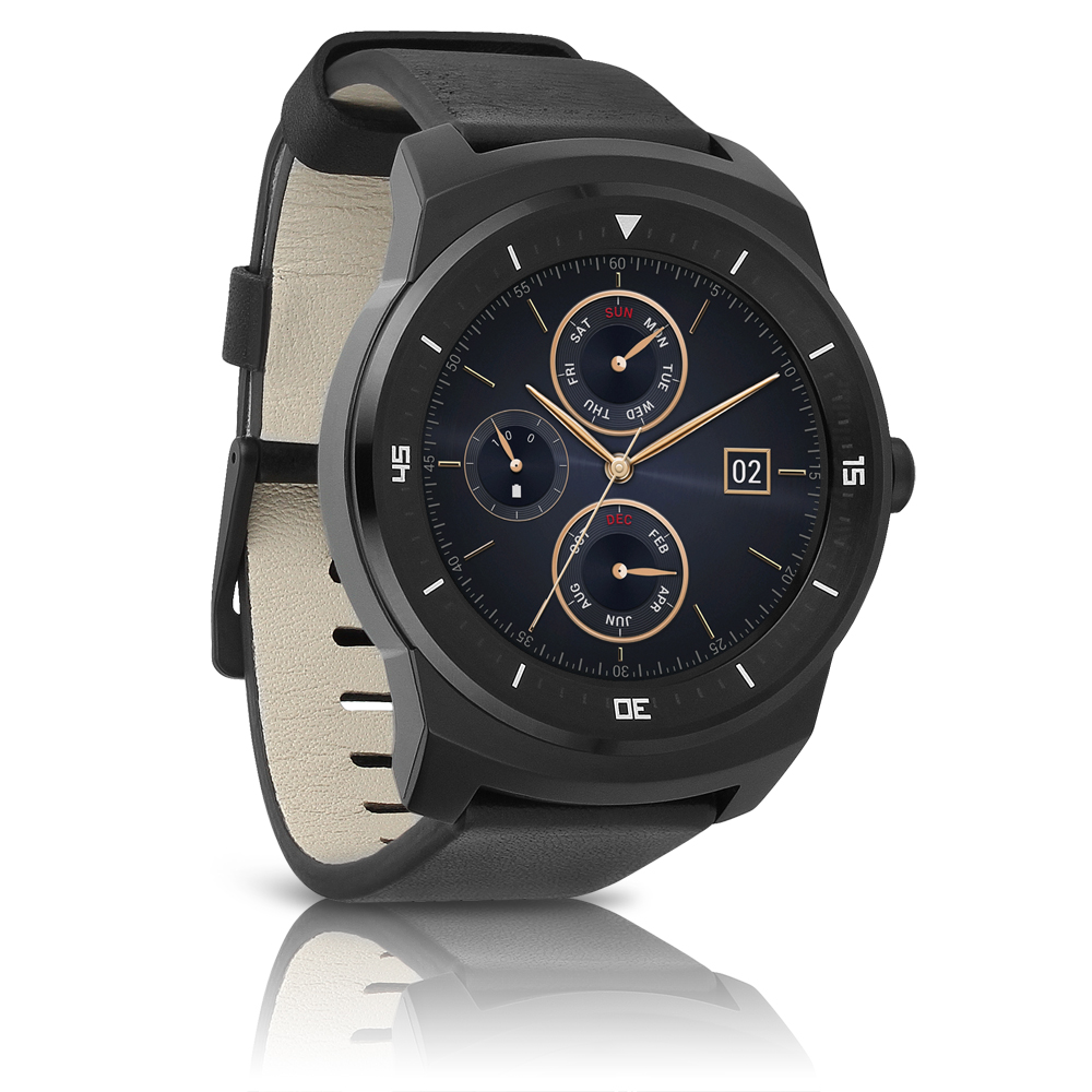 LG G Watch R W110 - Smart watch - 1.3-inch - 4 GB - Bluet...