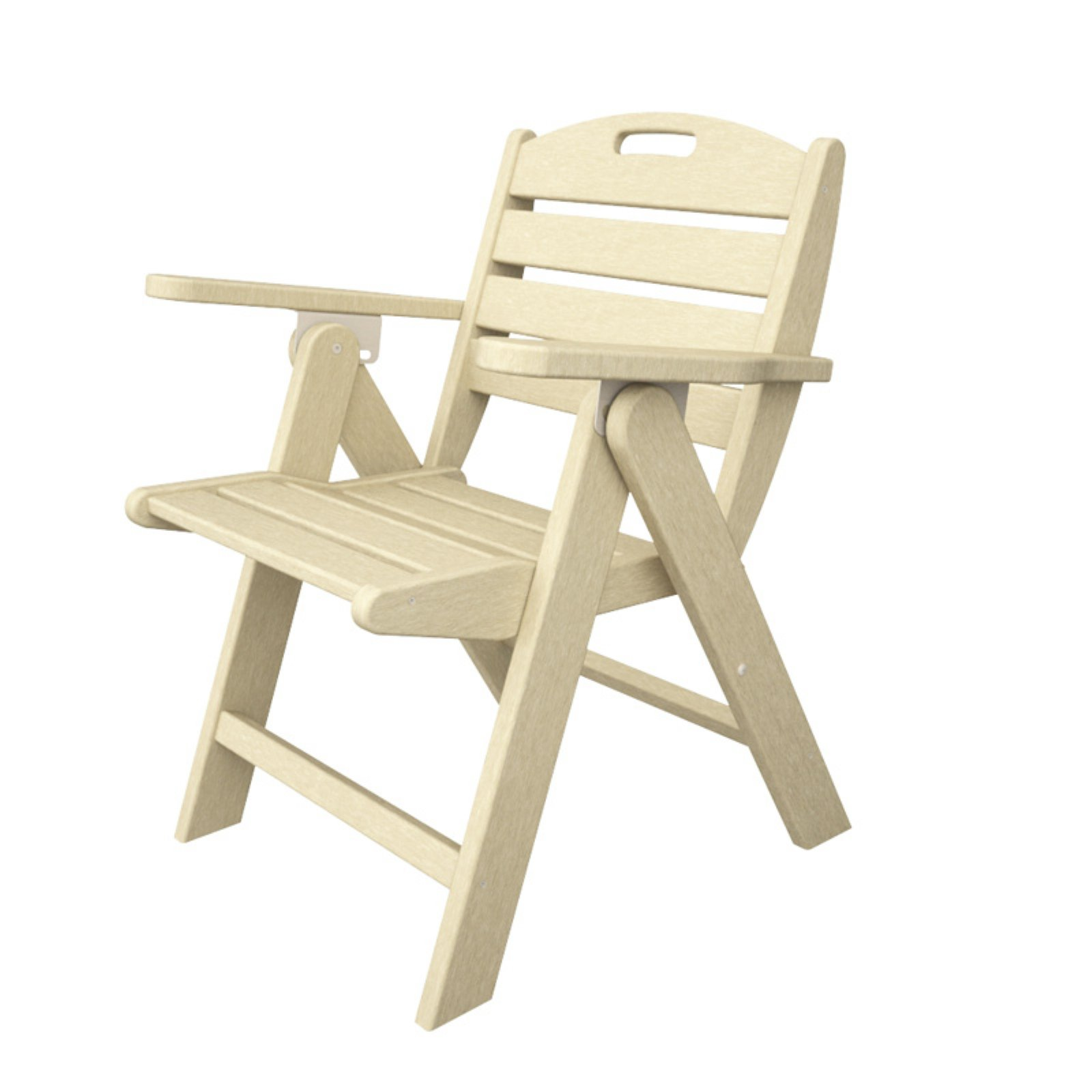 POLYWOOD® Nautical Lowback Recycled Plastic Chair