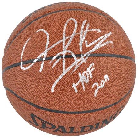 Dennis Rodman Autographed Spalding Indoor/Outdoor Basketball with