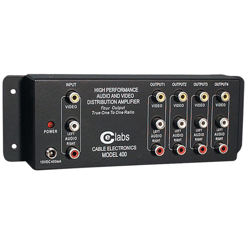 CE Labs AV 400 Prograde Composite A/V Distribution Amplifiers