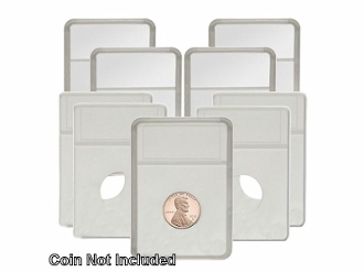 BCW COIN DISPLAY SLABS HOLDER 5 COUNT NO INSERT