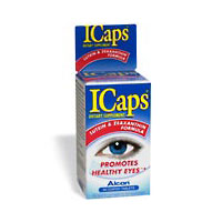 Icaps Lutein And Zeaxanthin Lactose Free Ocular Vitamin Eye Tablets - 60 Ea