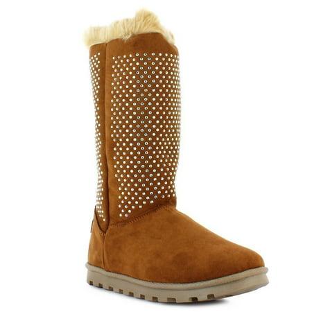 Gold Trim Boots (Gunny Adult Honey Fantasy Diamonds Plush Trim Gold Zipper Boots 5)