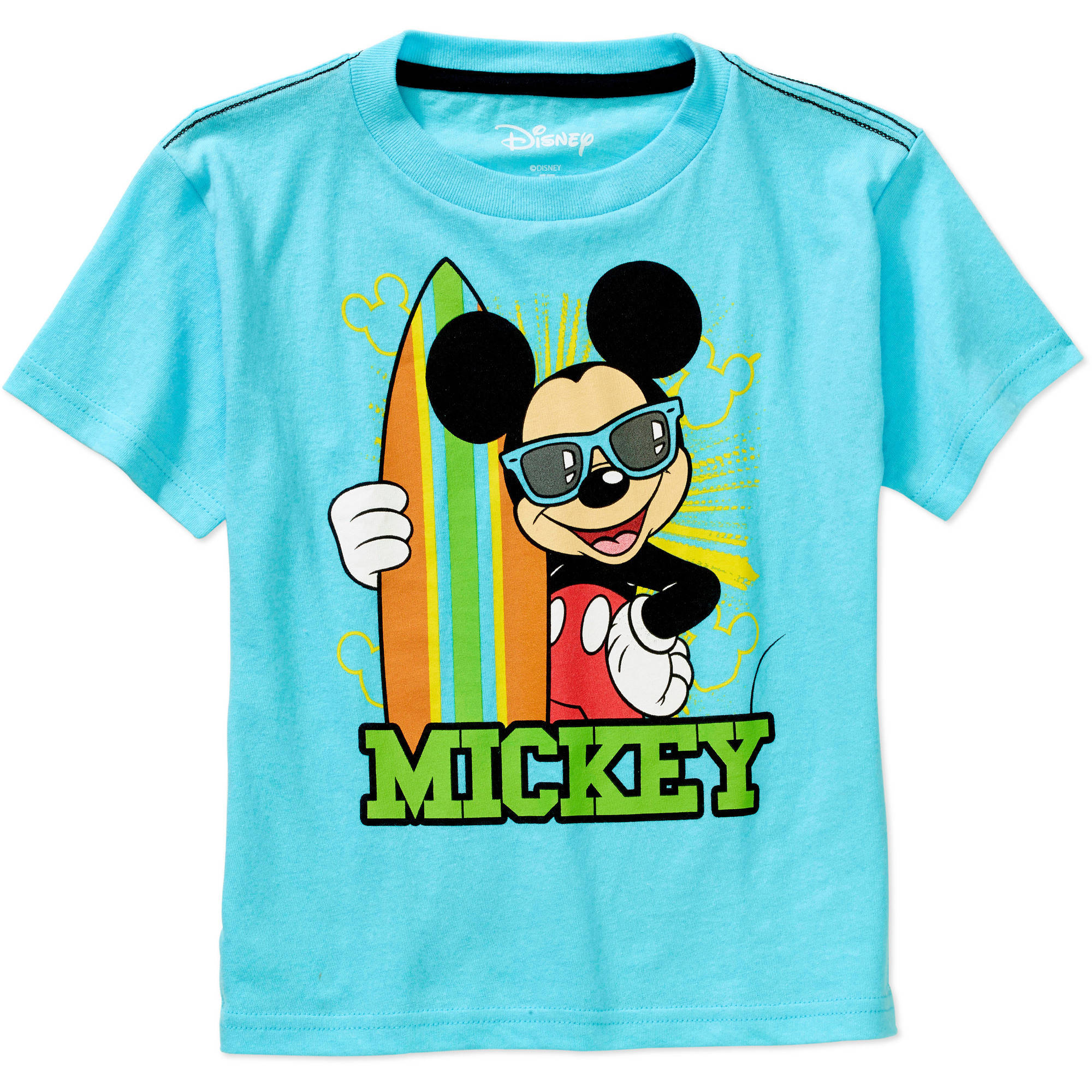 Mickey Mouse Toddler Boy Short Sleeve Graphic Tee