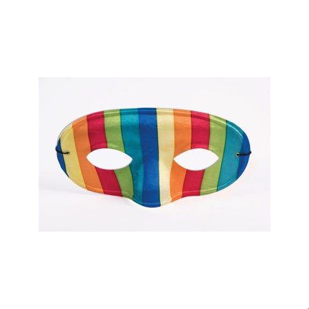 Rainbow Domino Mask Halloween Costume Accessory](Domino Group Halloween)