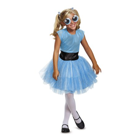 Powerpuff Girls Bubbles Tutu Deluxe Child Costume (Powerpuff Girls Costumes Women)