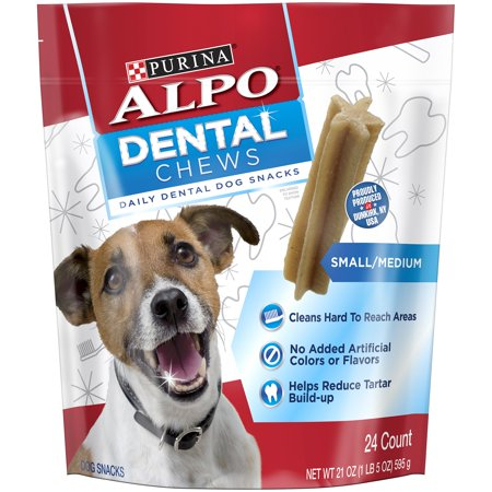 ALPO Dental Chews Small/Medium Dog Treats 21 -