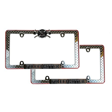 Fire fighter license plate | Compare Prices at Nextag