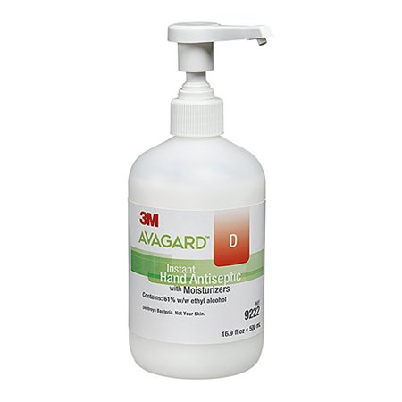- 3M Healthcare Sanitizer Hand Gel Avagard D with Moisturizer - 16.9 Oz