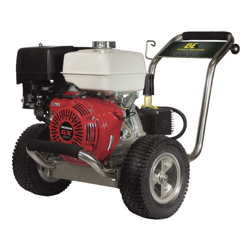 BE Pressure 4000 PSI 4 GPM Cold Water Stainless Steel Comet Pump Pressure Washer