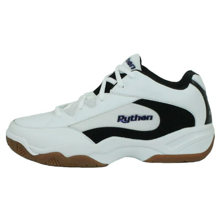 Python Wide (EE) Width Indoor White Mid Size Racquetball (Squash, Badminton, Volleyball)