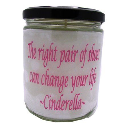 Star Hollow Candle Company The Right Pair of Shoes Can Change Your Life Cinderella Buttery Maple Syrup Jar