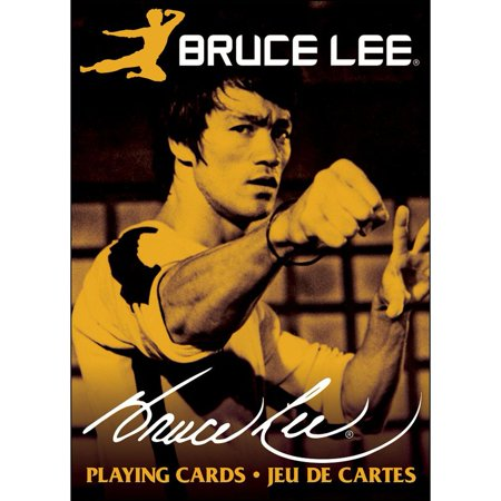 Bruce Lee Playing Cards,  Action Movies by NMR - Led Playing Cards
