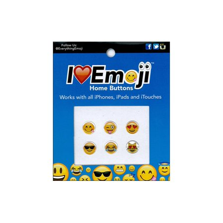 Everything Emoji Sticker Epoxy Home Button - Epoxy Stickers