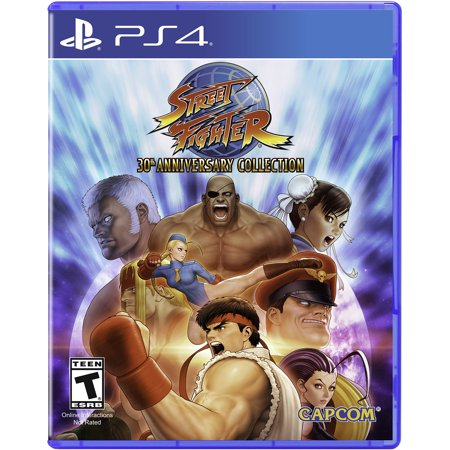 - Street Fighter 30th Anniversary Collection, Capcom, PlayStation 4, REFURBISHED/PREOWNED