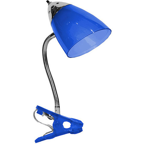 Your Zone Clip Lamp, Blue, Multiple Colors