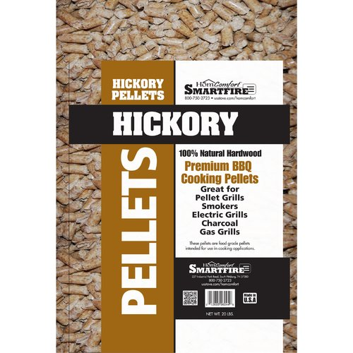 HomComfort Pellets Hickory Wood for Grills Stove