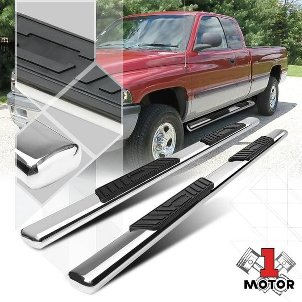 Chrome For Dodge Ram Quad Cab 5 Oval Side Step Nerf Bar Running Board