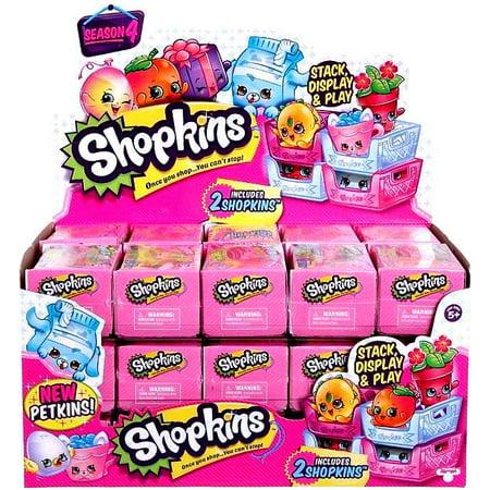 Shopkins Series 4 Mystery Box 30 Packs Walmart Com