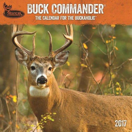 """DaySpring 12"""" x 12"""" Wall Calendar Buck Commander, P1"""