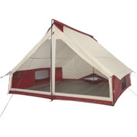 Wenzel Ivanhoe 6-Person Red Plaid Tribute Tent