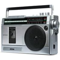 ION ISP113S Retro Rocker Jukebox Speaker Dock for iPad, iPhone, and iPod