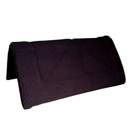 INTREPID INTERNATIONAL Girth West. Fleece Np Bkl, Color: Black, Size: 30 (158912BK) Fleece Equalizing Girth