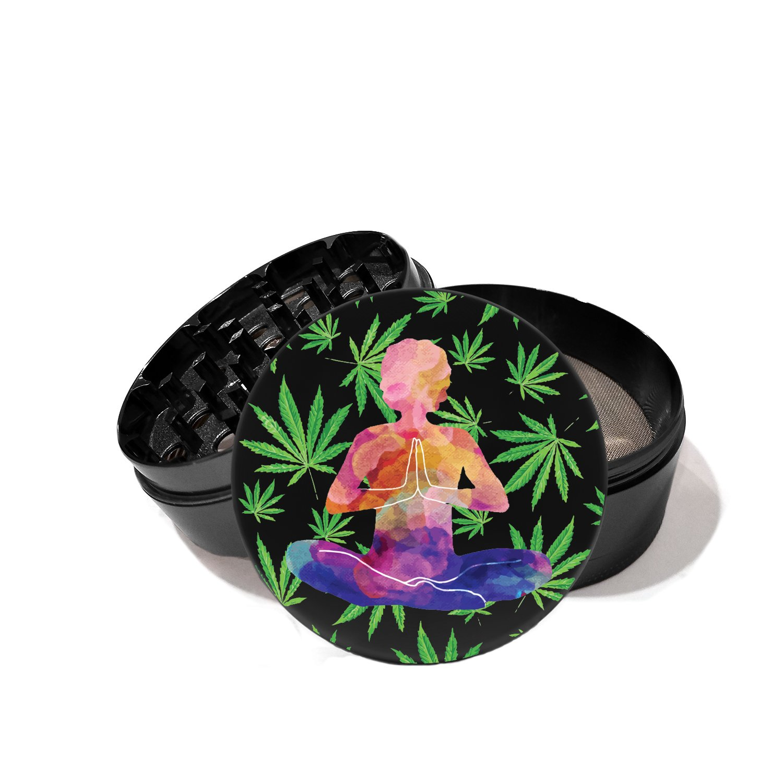 Peaceful Meditation - UV Printed Grinder