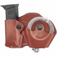 Gould and Goodrich 841-1 Gold Line Cuff and Mag Case with Belt Loops