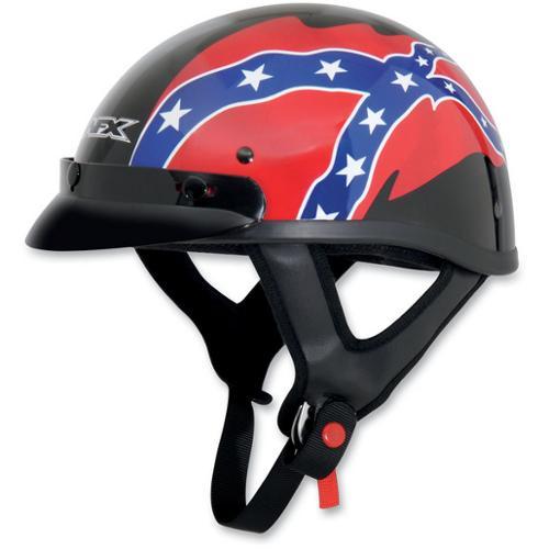 AFX FX-70 Beanie Rebel Helmet Black Rebel