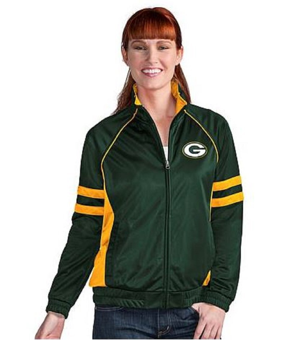 Green Bay Packers Women's Legend Track Jacket by G-III 4Her by Carl Banks