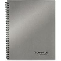 """Mead, MEA06327, Silver 11"""" Metallic Notebook, 1 Each"""