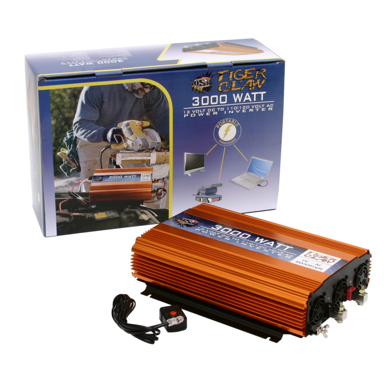 Tiger Claw Inc 3000 Watt Power Inverter DC-AC 6000 Watt P...