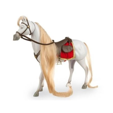 disney tangled maximus fully articulated horse action figure - 11 h