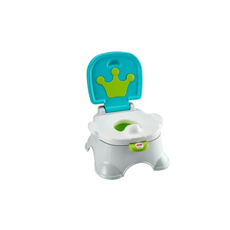 Fisher-Price Royal Stepstool Blue Potty Training Seat (Step Potty Training System)