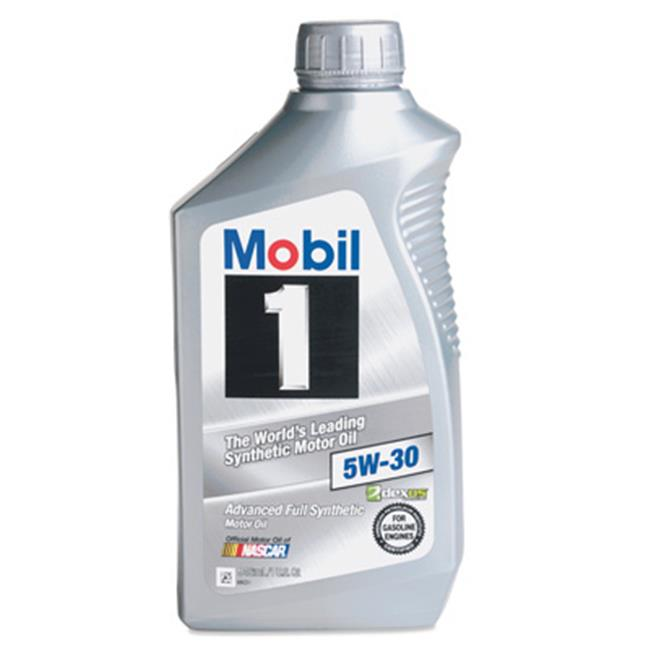 Mobil MO481119 Quart 5W30 Synthetic Motor Oil, Pack of 6