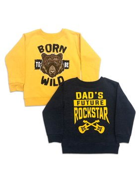 Garanimals Toddler Boys Graphic Sweatshirts, 2 pack
