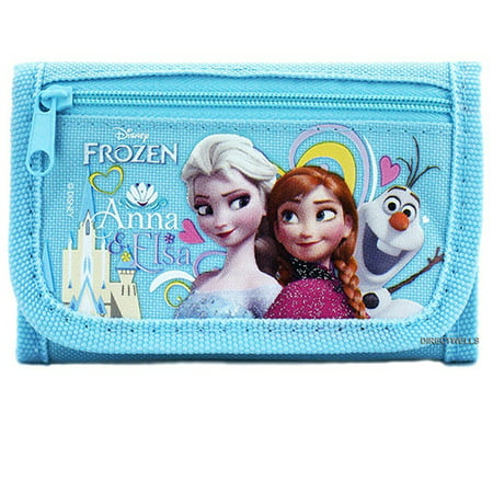 Frozen Elsa Anna and Olaf Character Light Blue Trifold - Anna Elsa And Olaf Costumes