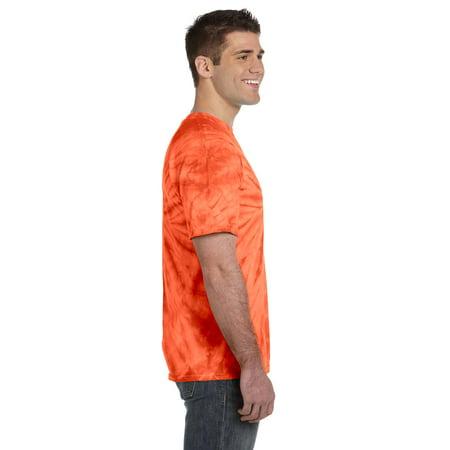 Tie-Dye Adult 5.4 oz., 100% Cotton Tie-Dyed T-Shirt Spider CD101