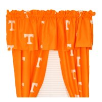 "Tennessee Volunteers 100% Cotton, 63"" Curtain Panels, Set of 2"
